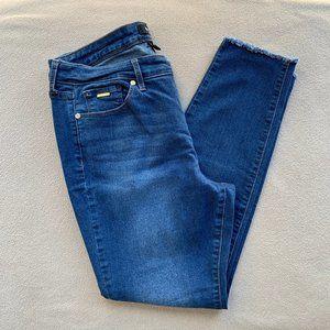 Nine West High Rise Skinny Ankle Jean, Sz 14P, EUC